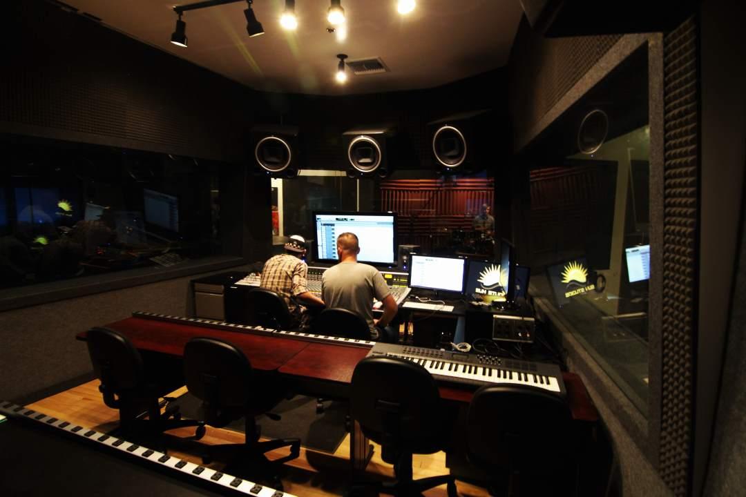 Audio Suite Control Room