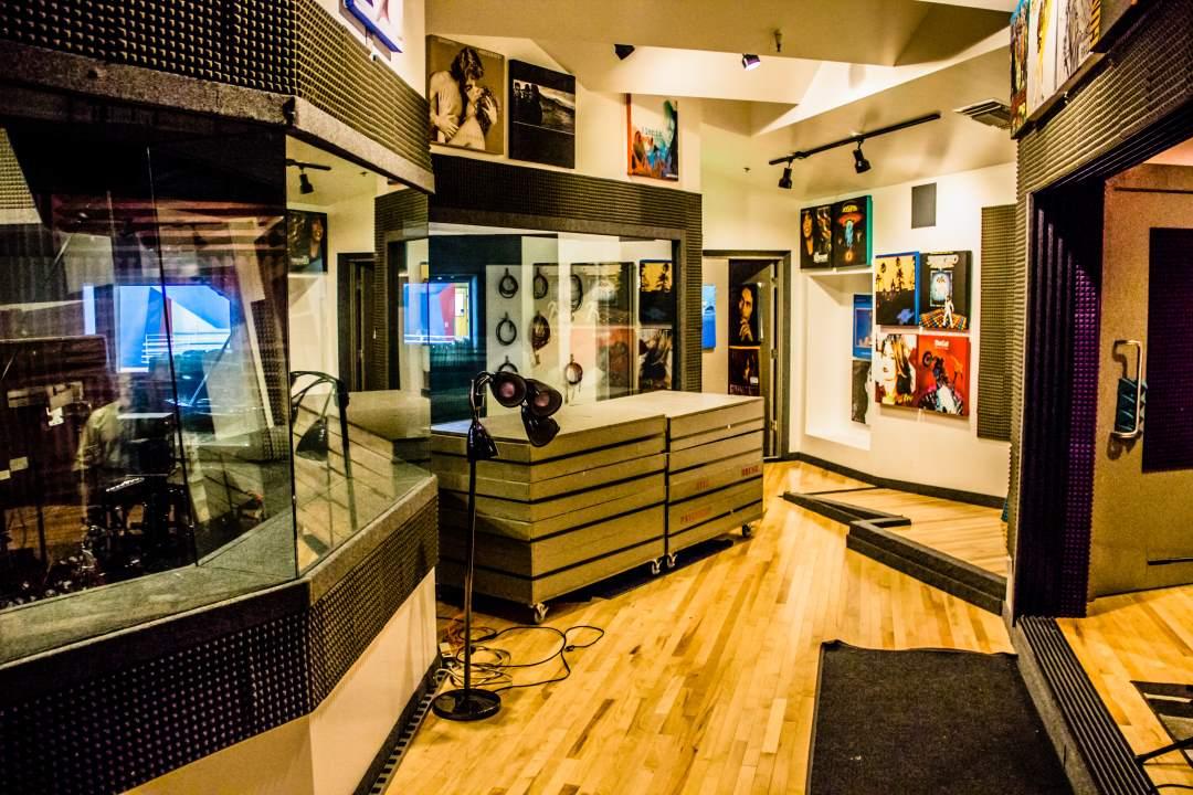 Audio Suite Isolation Room